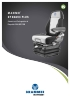 Asiento para grandes tractores con multimando: Grammer Maximo XT Dynamic Plus
