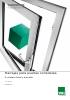 Corredera lineal y elevable aluminio