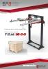 Dispensador automático de cobertura superior TDM1800