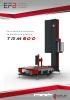 Envolvedora automática de plataforma giratoria TRM500