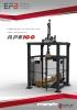 Paletizador automático de ejes cartesianos RPE100
