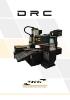 DRC |Corte y mecanizado de precisión en el menor espacio
