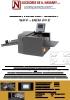 Hendidora Perforadora automática NAV HEN 20