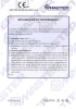 Dinamika -Bisagra para puertas - Declaration of performance CE – Ref. Ist. Giordano - A8011.11