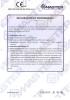 Dinamika -Bisagra para puertas - Declaration of performance CE – Ref. Ist. Giordano - A8011