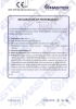 Dinamika -Bisagra para puertas - Declaration of performance CE – Ref. Ist. Giordano - A8013.11