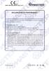 Dinamika -Bisagra para puertas - Declaration of performance CE – Ref. Ist. Giordano - A8013