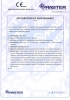 Dinamika -Bisagra para puertas - Declaration of performance CE – Ref. Ist. Giordano - A8014
