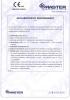 Dinamika -Bisagra para puertas - Declaración de prestaciones CE – Ref. ITB - 8012-11