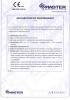 Dinamika -Bisagra para puertas - Declaración de prestaciones CE – Ref. ITB - 8013-11