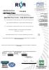 Certificaciones de la empresa Master Italy