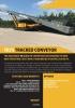 ANACONDA TR75 Transportador sobre orugas