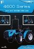 Tractores isodiamétricos Landini 4600 ISM y 4600 VRM