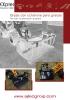 Grapas con cucharones para granjas - 2 cilindros - serie G-HD