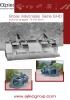 Grapas industriales - 2 cilindros - serie G-HD - modelos reforzados
