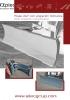 Hojas angledozer - angulación horizontal hidráulica - serie V