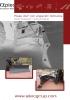 Hojas angledozer - angulación horizontal hidráulica - serie U