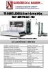 Troqueladora semiautomática para cartón de introducción manual