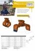 Pinzas de escolleras, manipulación y demolición hidráulicas - en punta de retro - serie PMZ - rotación 360º