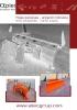Hojas quitanieves - angulación horizontal hidráulica - serie SPBH1