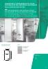 Cerradura y cerradero Duo-Glass sistema electro-mecánico antipánico para puertas de crista