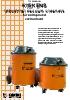 Aspiradores industriales Kiekens Tipo B190/B191 (inglés)