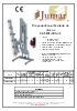 Prepodadora articulada Jumar PF-5606-SRG+/2