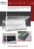 Cucharones hormigonera - transmisión cadena