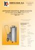 Aspiradores industriales modelo XLK 070