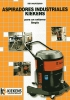 Aspiradores industriales Kiekens KE1000 / KE 2000
