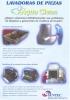 Lavadoras de piezas para talleres AquaClean