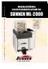 Bru�idora semiautom�tica Sunnen ML-2000