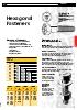 Fasteners - Hexagonal fasteners
