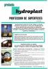 Protección de superficies, Hydroplast
