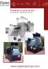 Fresadoras en punta de retro para asfalto-hormigón