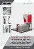 Sistema de agua de proceso y secado del pellet de ECON