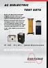 Instrumentos AC de Rigidez Dieléctrica hasta 300 kV y 40 kVA