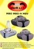 Bivalvas hidráulicas de carga y excavación series MBO, MBO-H y MBV