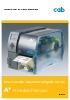 Impresora de etiquetas/código de barras CAB A+, el modelo Premium