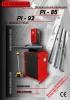 Troqueladora Hidráulica para Cerraduras PI85 / PI92