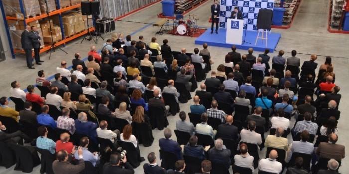 Gran inauguraci�n de las nuevas instalaciones de Reynaers Aluminium en Espa�a