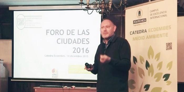 El Foro de las Ciudades se presenta en la C�tedra Ecoembes-UPM