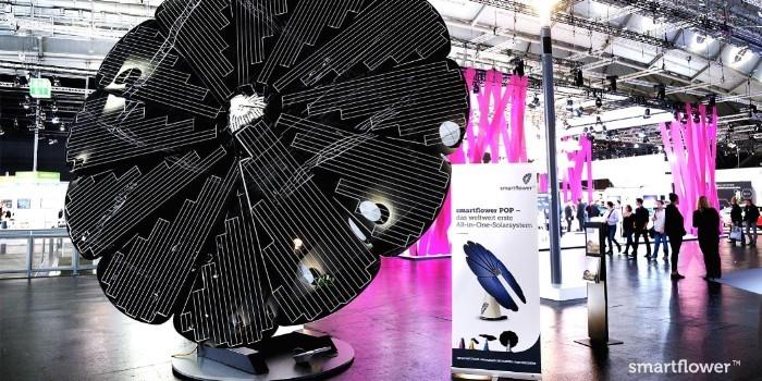 Smartflower POP-e, el nuevo sistema fotovoltaico con una estaci�n de recarga para veh�culos el�ctricos