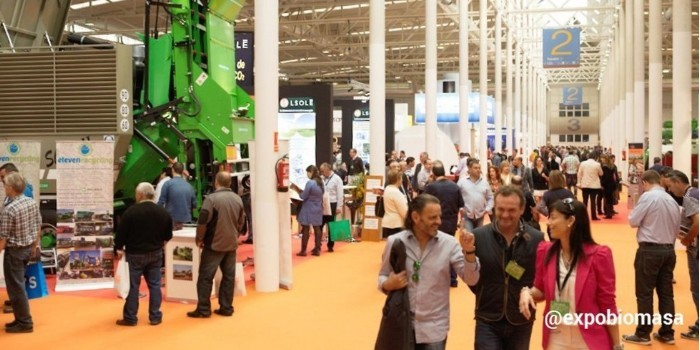El 75% del espacio expositivo de Expobiomasa 2017 ya ha sido reservado por empresas de 13 países