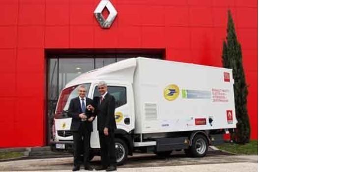 La Poste y Renault Trucks ponen en circulaci�n el primer cami�n con pila de combustible de hidr�geno en Europa