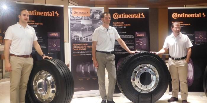 Continental presenta su nueva gama de neum�ticos Conti Hybrid