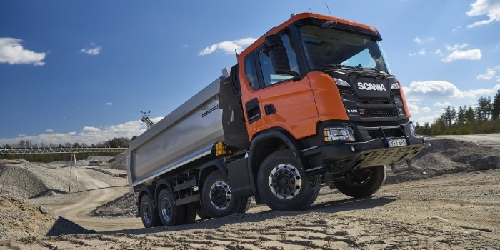 Scania XT, sinónimo de robustez y trabajo duro