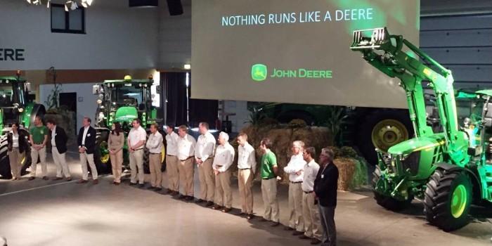 John Deere da un paso m�s en sus tractores agr�colas compactos