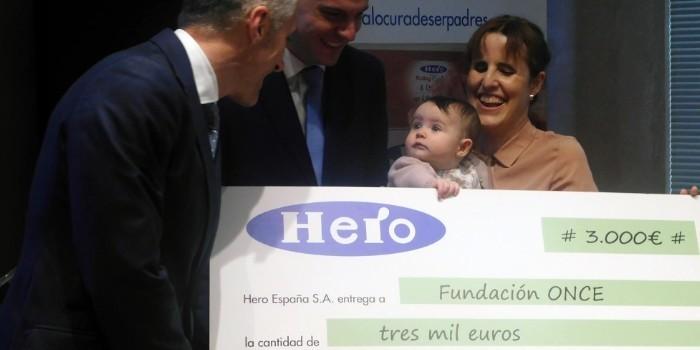 Hero Baby rompe barreras con el nuevo etiquetado de braille para sus productos