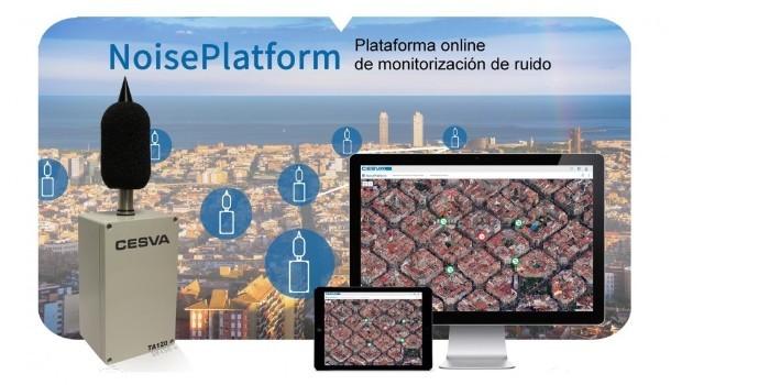 Cesva presenta NoisePlatform, una plataforma online de monitorización de ruido